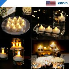 Cheap Floating Tea Light Candles Details About 12 Flameless Floating Waterproof Led Tealight Candle Battery Operated Tea Lights