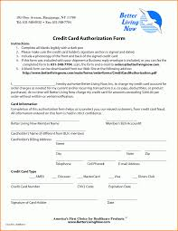 Creditcard Authorization Letter Blank Insurance Card With 24 Blank Credit Card Authorization Form 11