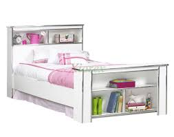 girls queen bed. Princes Bookcase Bed Frame In White Life Line Tango Girls | Xiorex Queen S