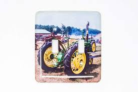 Tractor Light Switch Cover Amazon Com Vintage John Deere Tractor Light Switch Plate