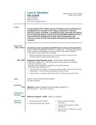 Rn Resume Builder Free Nurse Resumes Rn Resume Generator – Resume ...