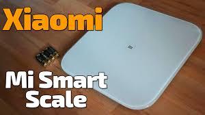 Обзор умных весов <b>Xiaomi Mi Smart</b> Scale - YouTube