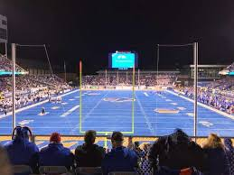 Albertsons Stadium Section 133 Home Of Boise State Broncos
