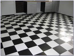 black and white tile floor. Wonderful Tile Armstrong Black And White Vinyl Tile In Floor E