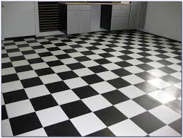 armstrong black and white vinyl tile