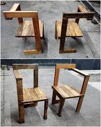 pallet furniture design. Beautiful Furniture Continue 60 DIY Pallet Chair Ideas  Part 3 In Furniture Design