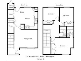 charming bedroom townhouse plans home furniture design kitchenagenda com