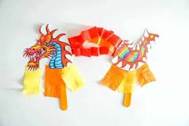 Dragon templates on templates r us deviantart. Chinese Dragon Puppet Kids Craft With Printable Dragon Template