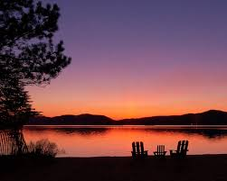 adirondack chairs on beach sunset. Fine Chairs 4th Lake Sunset With Adk Chairs In The Adirondacks Throughout Adirondack Chairs On Beach Sunset T