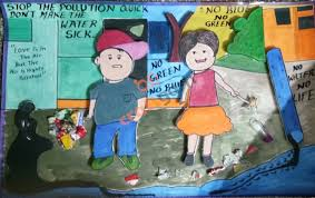 How To Make Chart On Pollution Craftgarh
