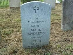 Mark Andrews (c.1733 - 1820) - Genealogy