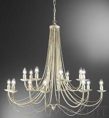 philly cream gold 16 light chandelier franklite lighting