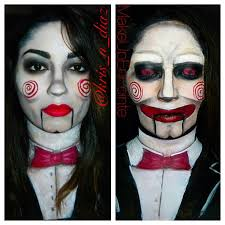 billy the puppet jigsaw makeup here s the link to check out how this look came