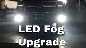 Diy Led Fog Lights Diy 2016 2020 Chevy Tahoe Led Fog Light Install
