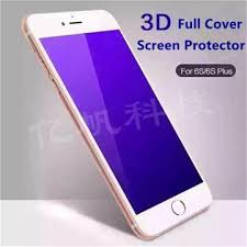 china 3d full cover iphone 6s anti blue light tempered