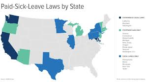 California Leave Laws Chart Paid Sick Leave Laws Continue To Give Employers Headaches