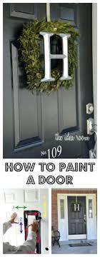 how to paint your front doorFront Doors  Front Door Ideas Front Door Design This Picture Has
