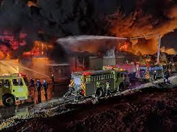 حريق في مستودعات على طريق الخرج القديم والمدني يتدخل | صحيفة المواطن  الإلكترونية