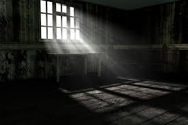 lighting a dark room. maybe the room was too dark lighting a g