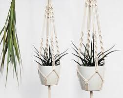 Hanging Planter, Macrame Plant Hanger, Macrame Plant Holder, Macrame  Planter, Plant Hanger