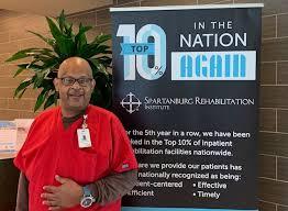 Spartanburg Rehabilitation Institute - Meet Stanley Moss! He ...