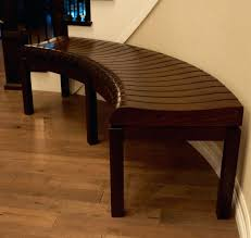 Curved Wooden Bench Plans Outdoor With Back Concrete Diy. Cedar Curved Bench  Plans Dining With Back Seating. Curved Fire Pit Bench Cushions Upholstered  With ...