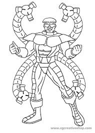 Spiderman Disegni Da Colorare Con Dottor Octopus Spiderman Disegno