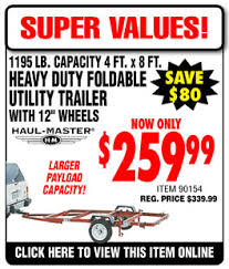 sawzall harbor freight. harbor freight foldable ulitity trailer $208, retail for $339. 12th - 14th only! sawzall w
