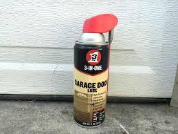 blaster garage door lubricant the best