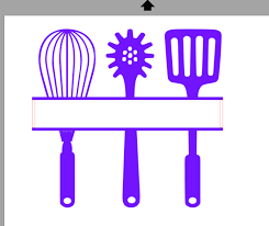 kitchen utensils split silhouette. Brilliant Split Kitchen_utensil_cutting_file Throughout Kitchen Utensils Split Silhouette I