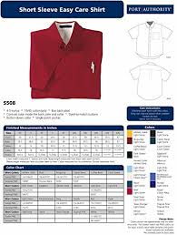 Port Authority Color Chart Port Authority Mens Short Sleeve Easy Care Dress Shirt