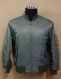 uniqlo green ma 1 style flight jacket sold