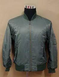 uniqlo green ma 1 style flight jacket sold