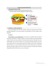 Hamburger clipart paragraph   Pencil and in color hamburger