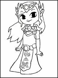 Zelda Kleurplaten 1