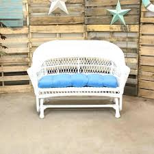 loveseats white wicker loveseat glider double and chairs