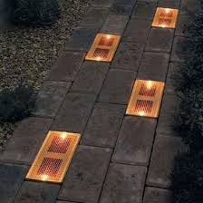 Charleston Solar Pathway Lights  Copper  3426WRM6HCSolar Backyard Lighting