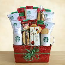 holiday inspiration gift baskets starbucks gift baskets gift baskets