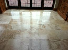 cleaning travertine shower tile