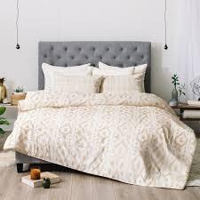 wonder forest desert linen comforter  deny designs
