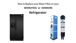 How To Level A Kenmore Refrigerator How To Remove And Replace The Water Filter On Your Compatible