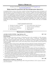 Logistics Resume Keywords Perfect Resume