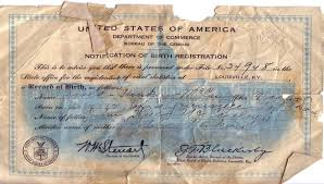 Your Birth Certificate The Great Government Money Scam Strawman