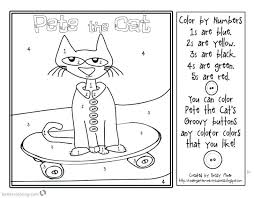 Fat Cat Coloring Pages Betterfor