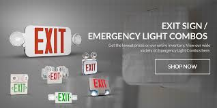 exterior illuminated exit signs. company slider exterior illuminated exit signs