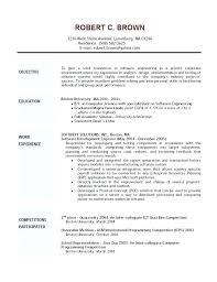 Sample Resume For Esthetician Student