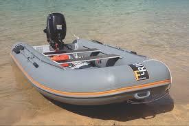 f rib 360 on beach in salcombe tohatsu 20 on transom fast