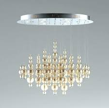 bubble chandeliers