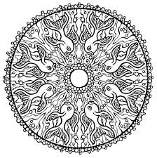 Coloring Book For Adults Mandala Art