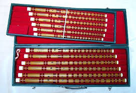Chinese Flutes Dizi And Xiao